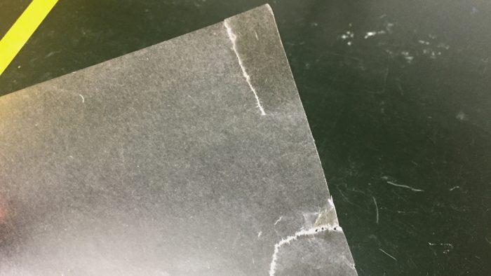 原紙の繊維の方向